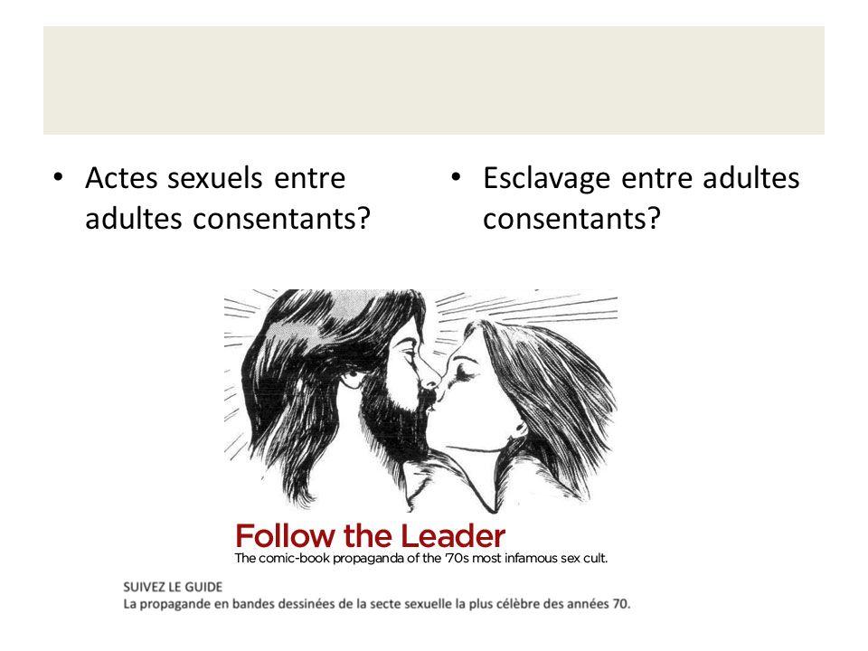 Actes sexuels entre adultes consentants