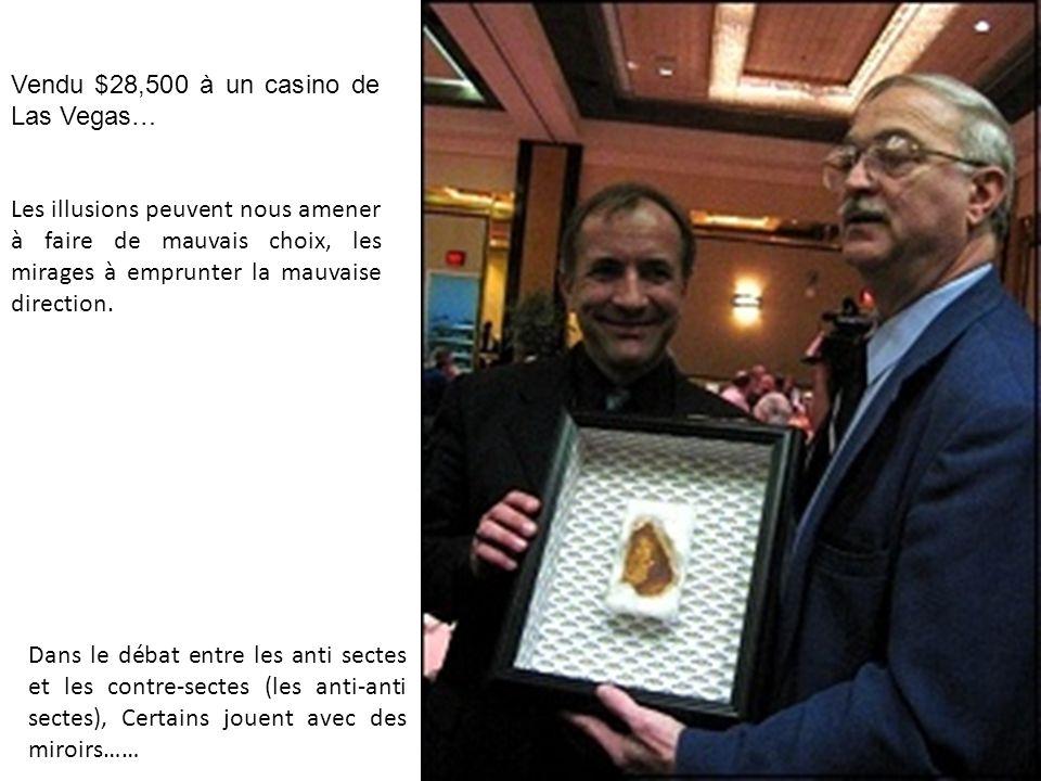 Vendu $28,500 à un casino de Las Vegas…
