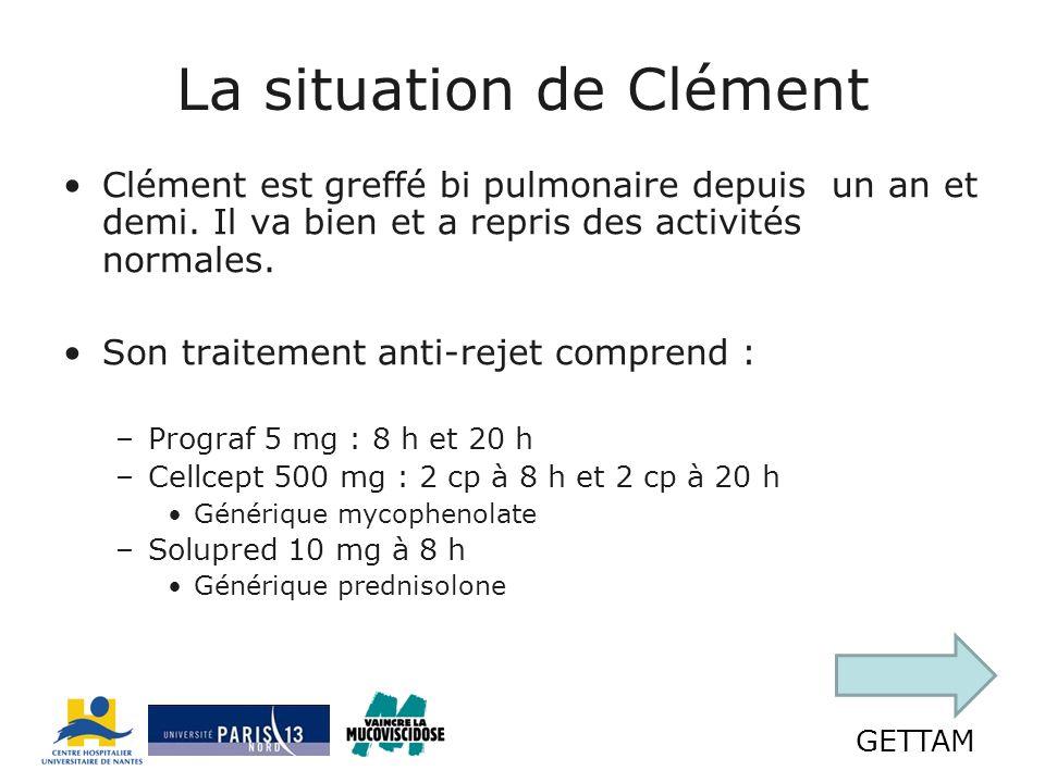 La situation de Clément