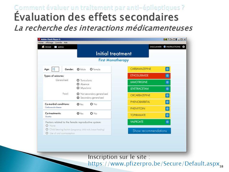 La recherche des interactions médicamenteuses