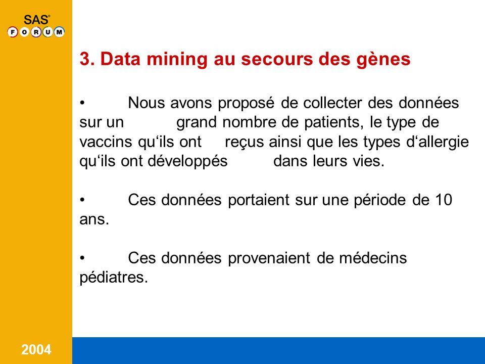 3. Data mining au secours des gènes