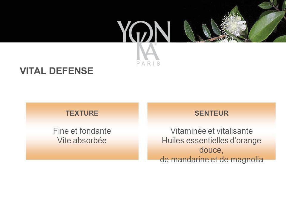VITAL DEFENSE Fine et fondante Vite absorbée Vitaminée et vitalisante