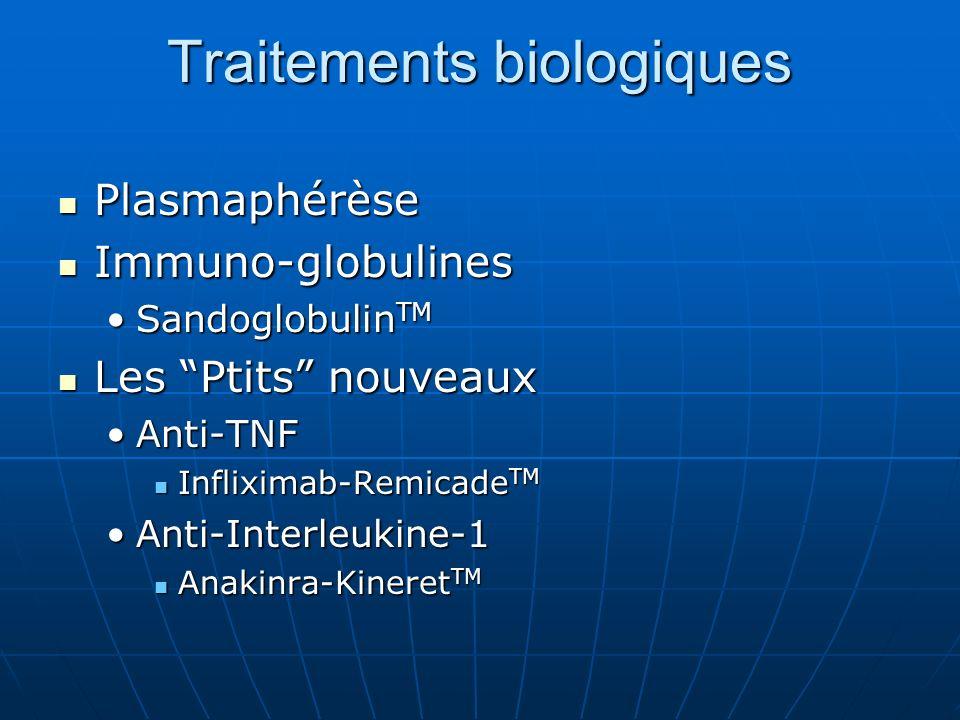 Traitements biologiques