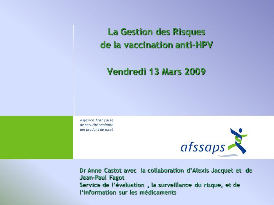 de la vaccination anti-HPV