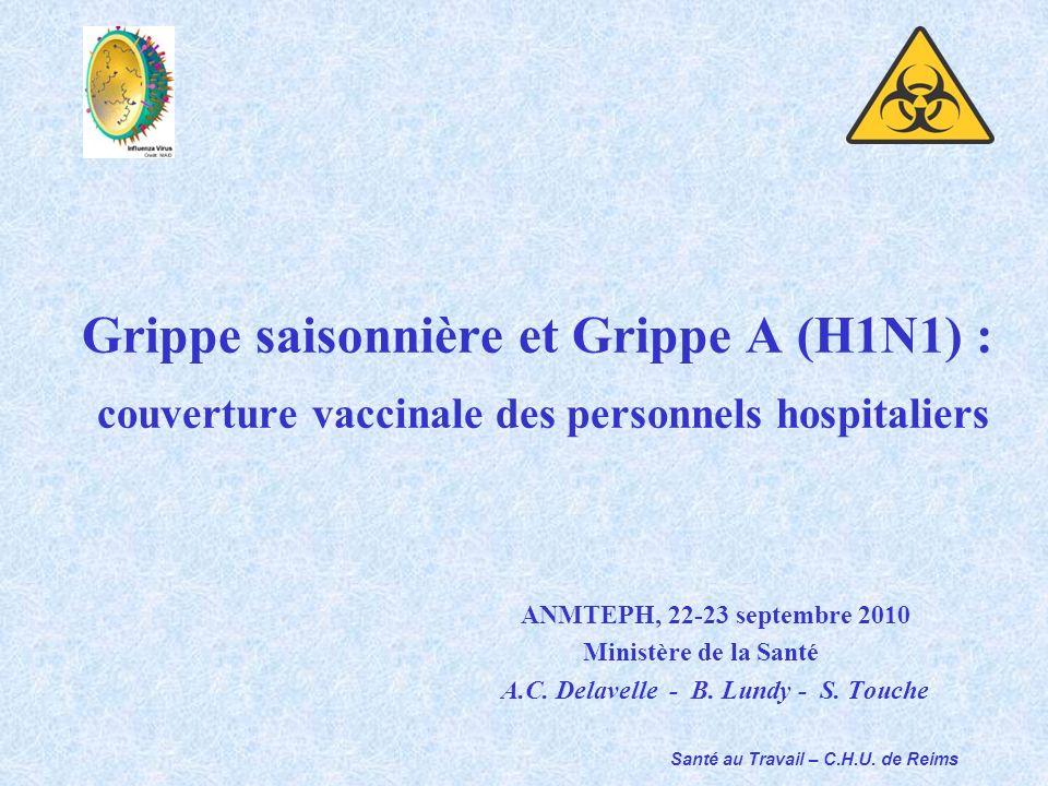 Grippe saisonnière et Grippe A (H1N1) :
