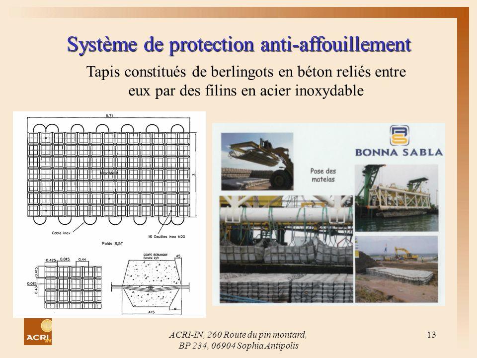 Système de protection anti-affouillement