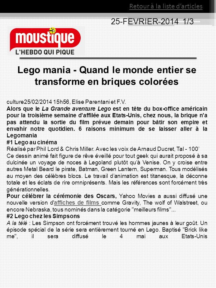 Lego mania - Quand le monde entier se transforme en briques colorées