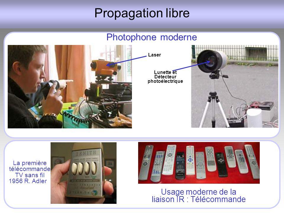 Lunette et Détecteur photoélectrique