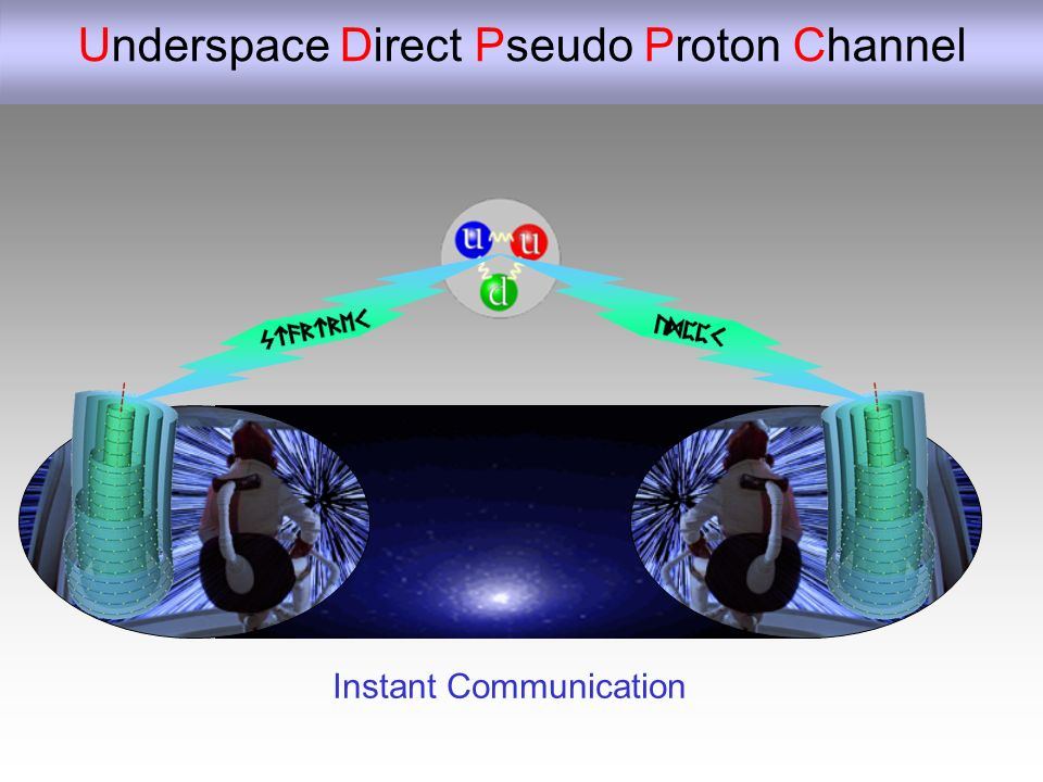 Underspace Direct Pseudo Proton Channel