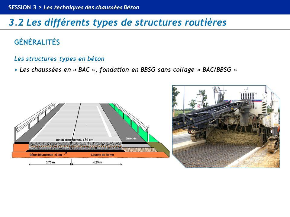 GÉNÉRALITÉS Les structures types en béton