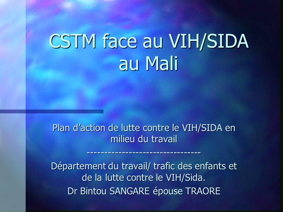 CSTM face au VIH/SIDA au Mali