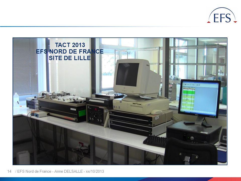 TACT 2013 EFS NORD DE FRANCE SITE DE LILLE
