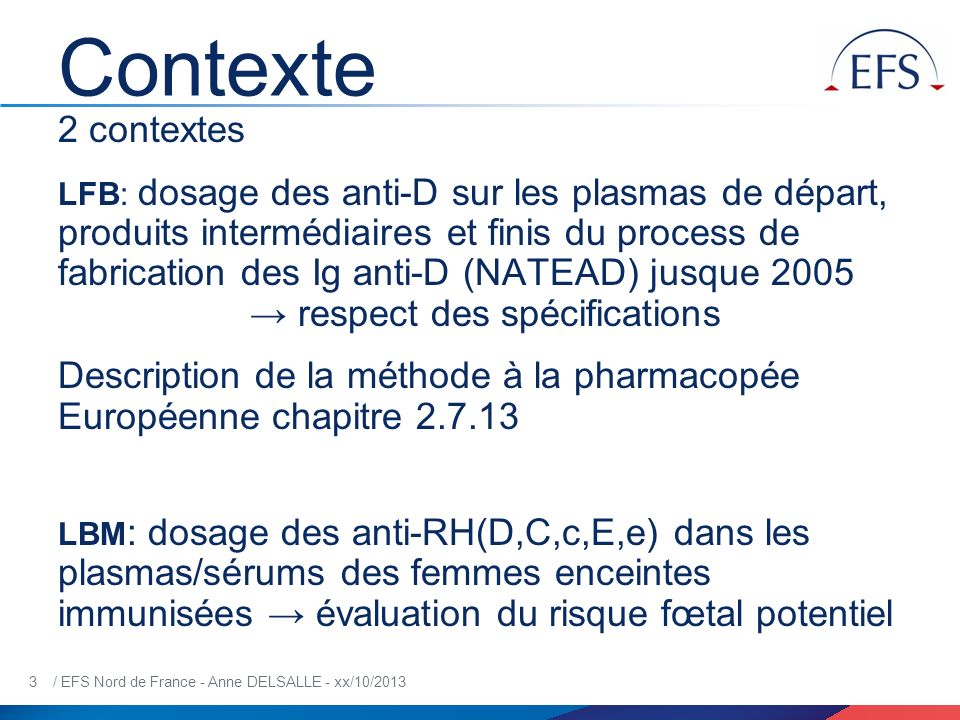 Contexte 2 contextes.