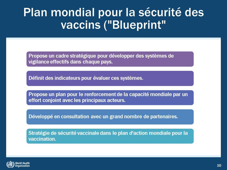 Plan mondial pour la sécurité des vaccins ( Blueprint