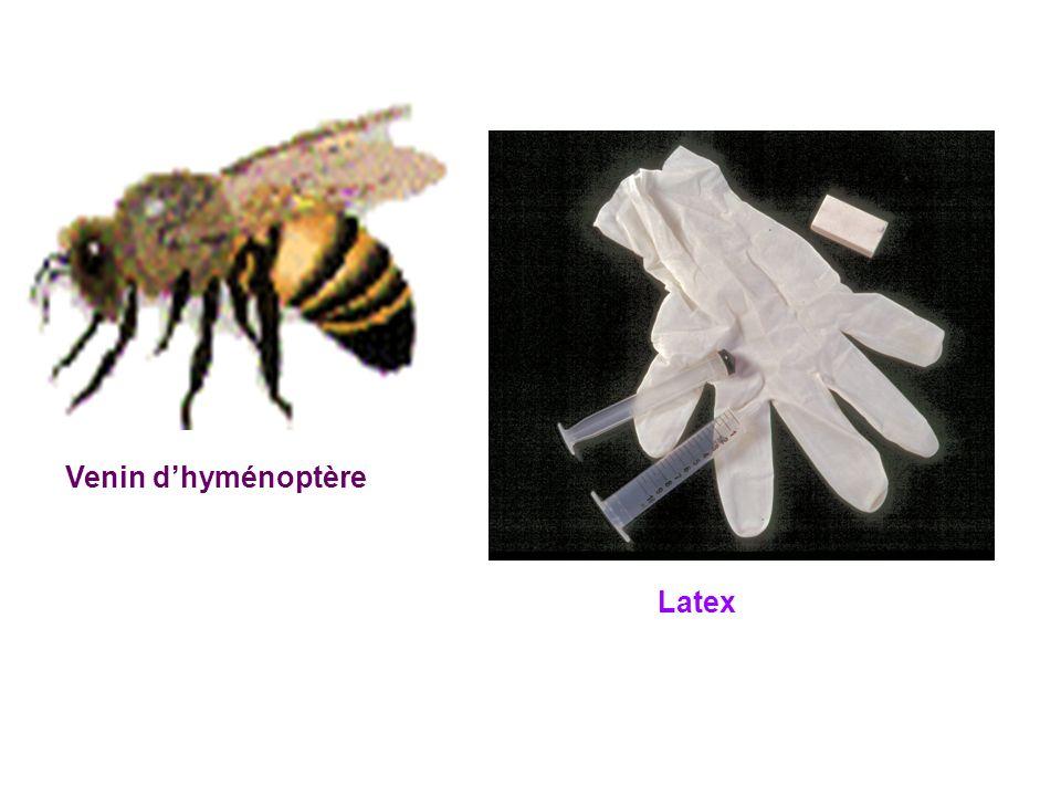 Venin d'hyménoptère Latex