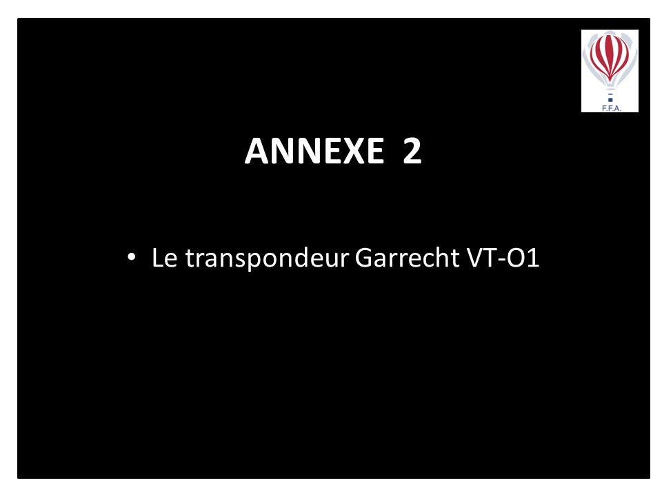 Le transpondeur Garrecht VT-O1