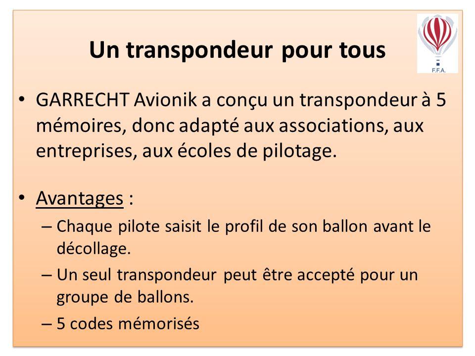 Un transpondeur pour tous
