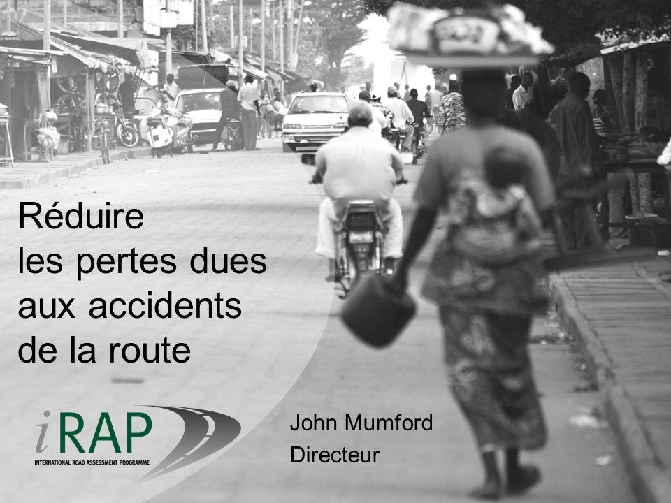 Réduire les pertes dues aux accidents de la route