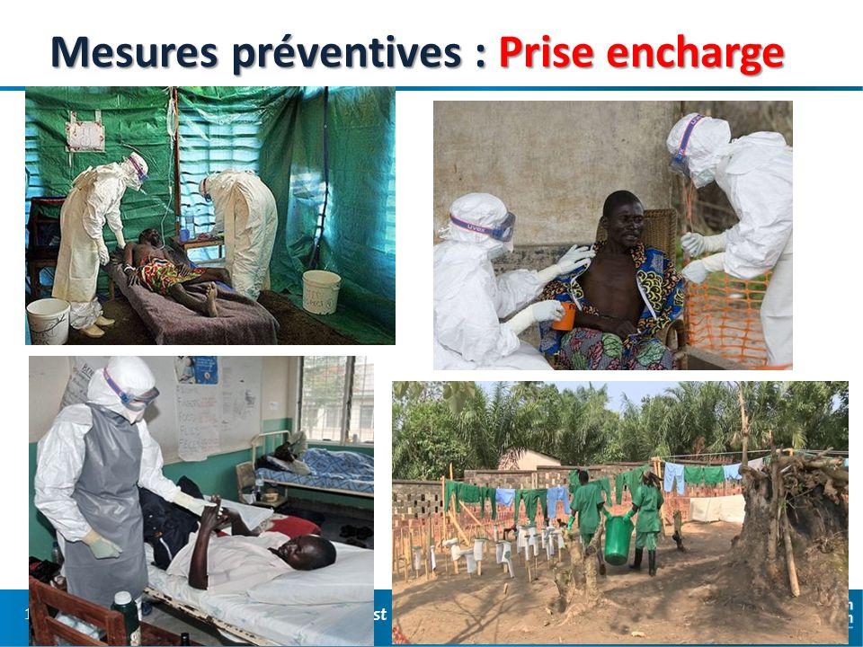 Mesures préventives : Prise encharge