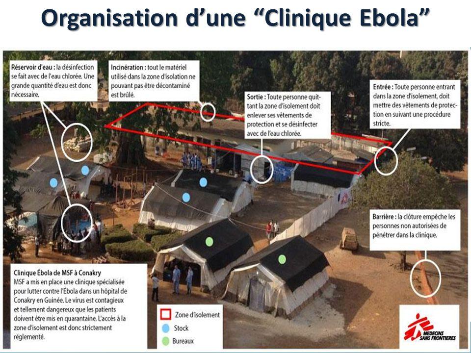 Organisation d'une Clinique Ebola