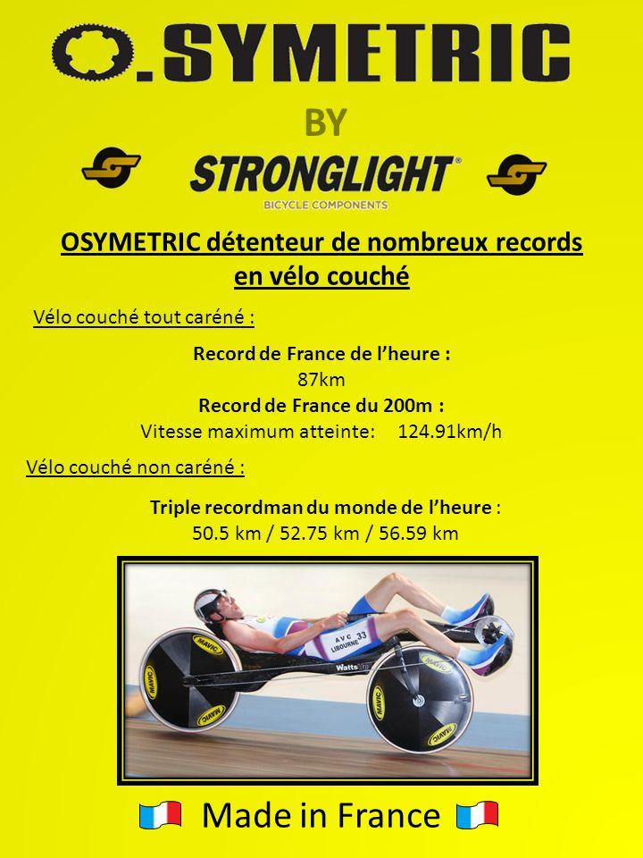 OSYMETRIC détenteur de nombreux records Record de France de l'heure :
