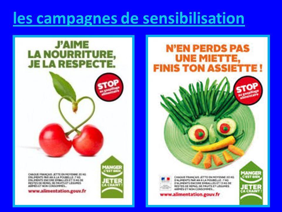 les campagnes de sensibilisation