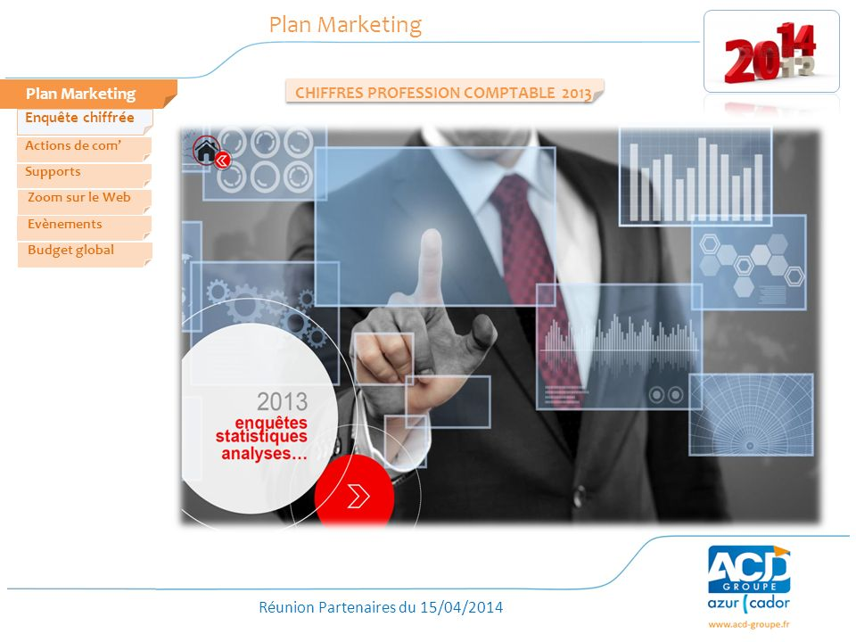 Plan Marketing Plan Marketing CHIFFRES PROFESSION COMPTABLE 2013