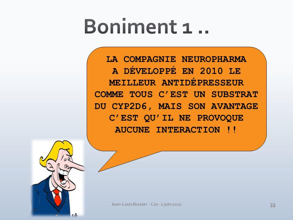 Boniment 1 .. LA COMPAGNIE NEUROPHARMA