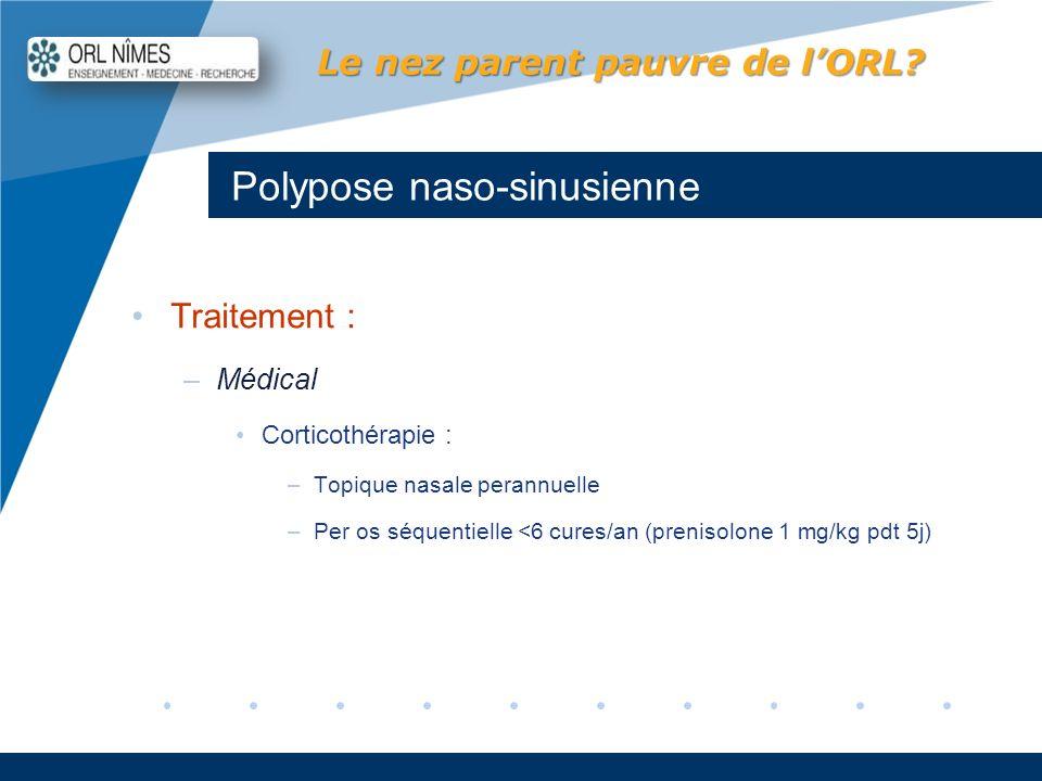 Polypose naso-sinusienne
