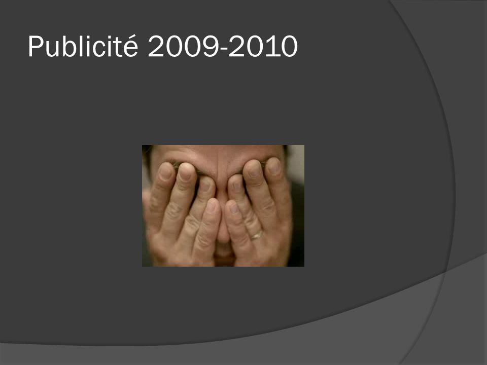 Publicité 2009-2010
