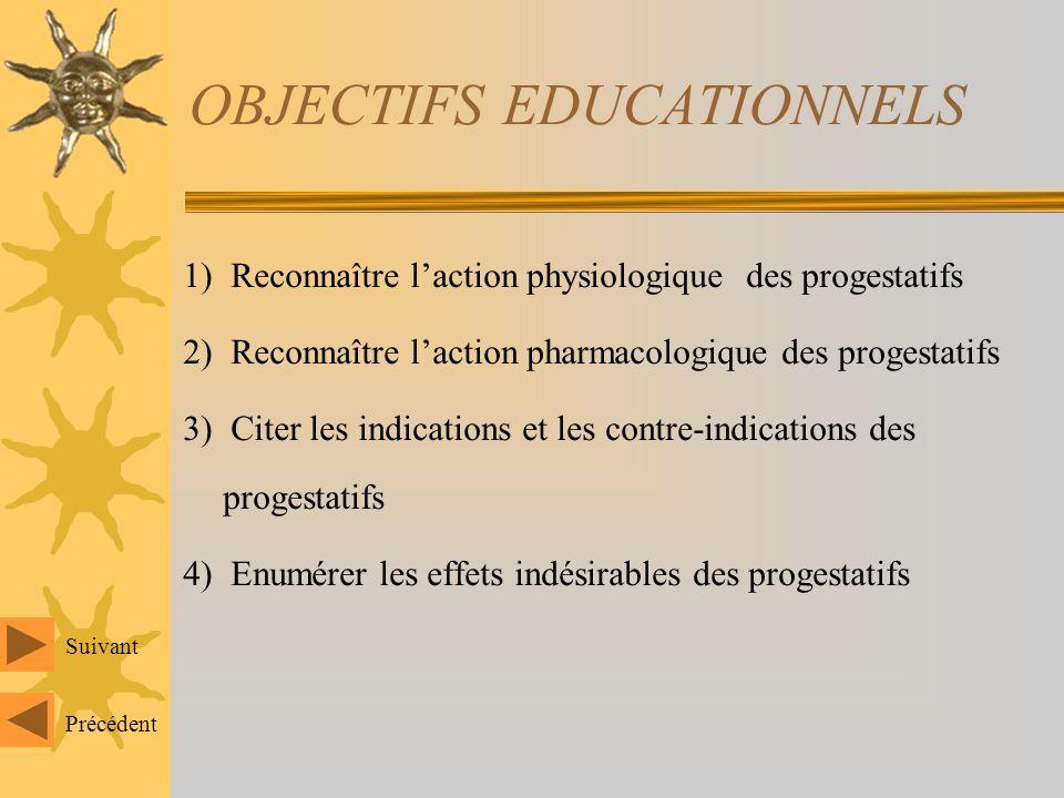 OBJECTIFS EDUCATIONNELS