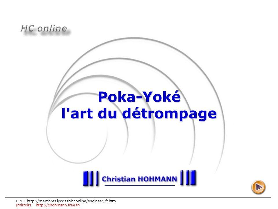Poka-Yoké l art du détrompage