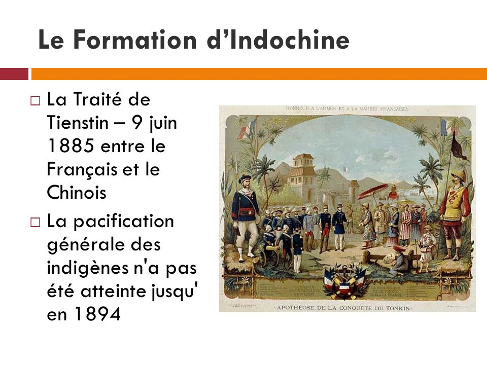 Le Formation d'Indochine