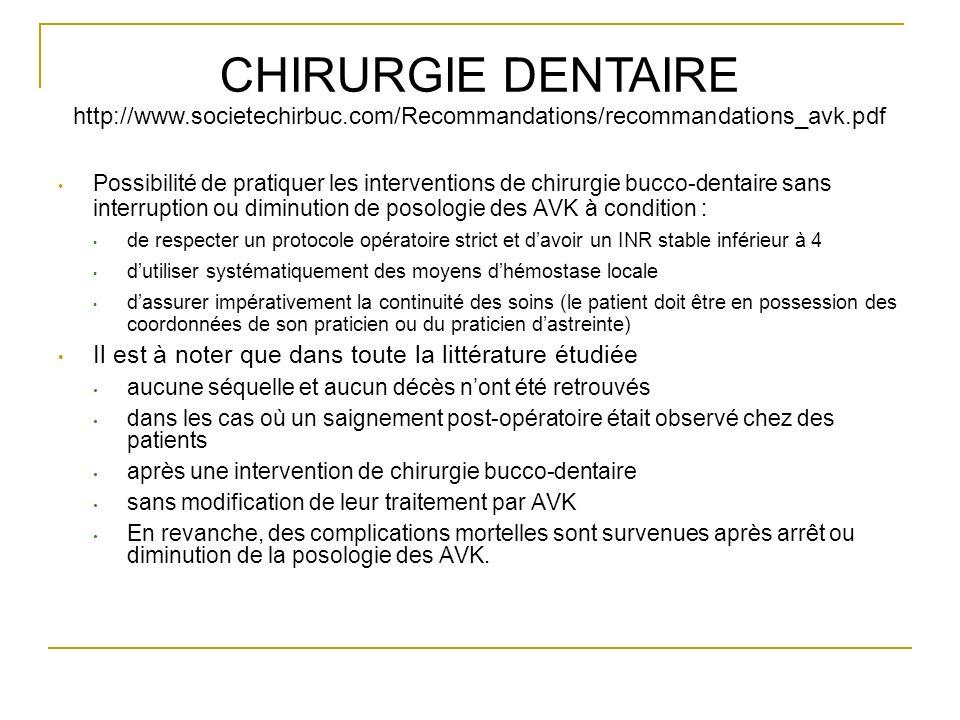 CHIRURGIE DENTAIRE http://www. societechirbuc