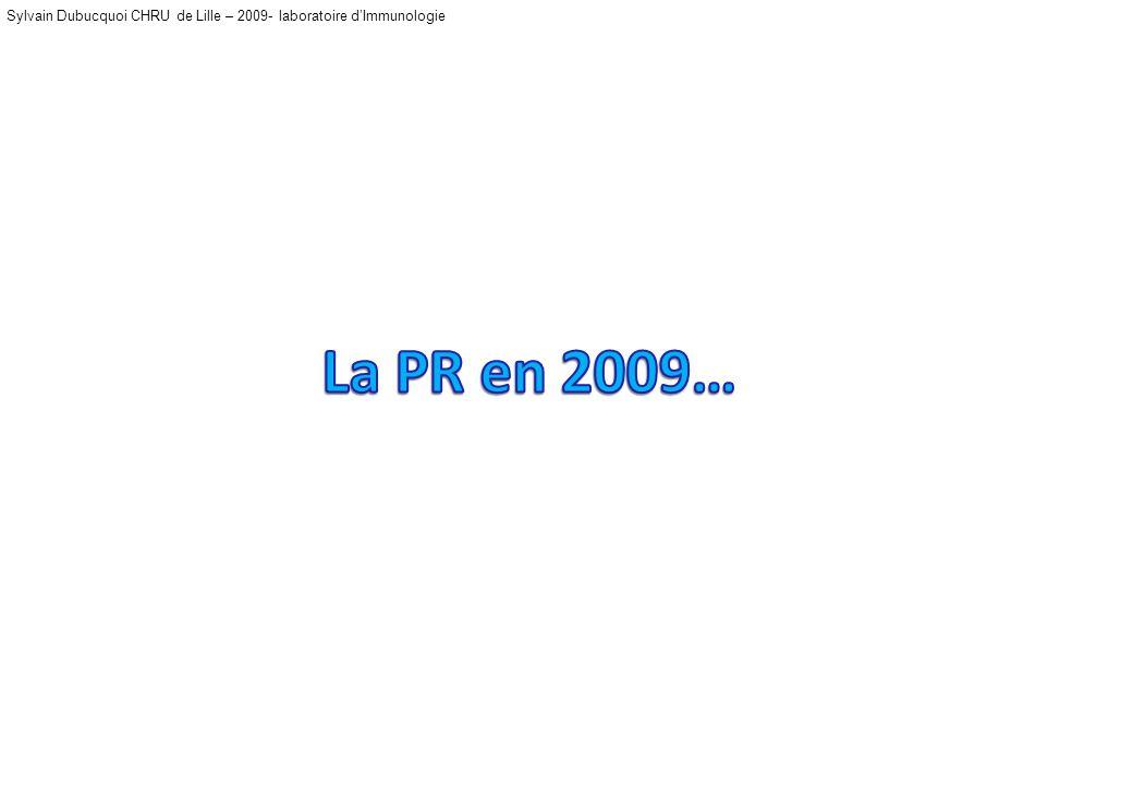 La PR en 2009…