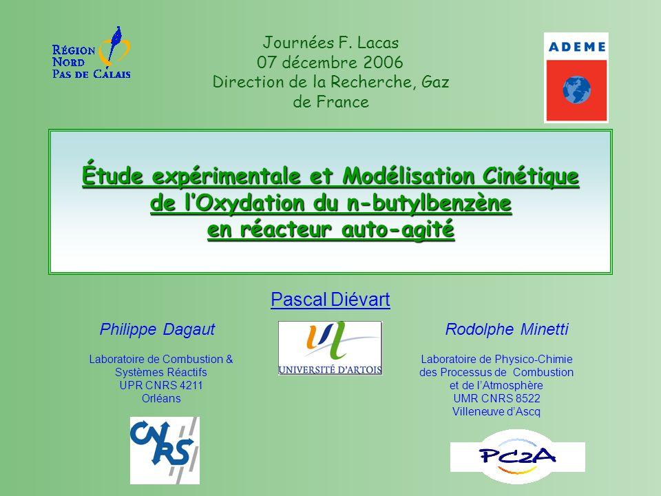 Laboratoire de Combustion & Systèmes Réactifs UPR CNRS 4211 Orléans