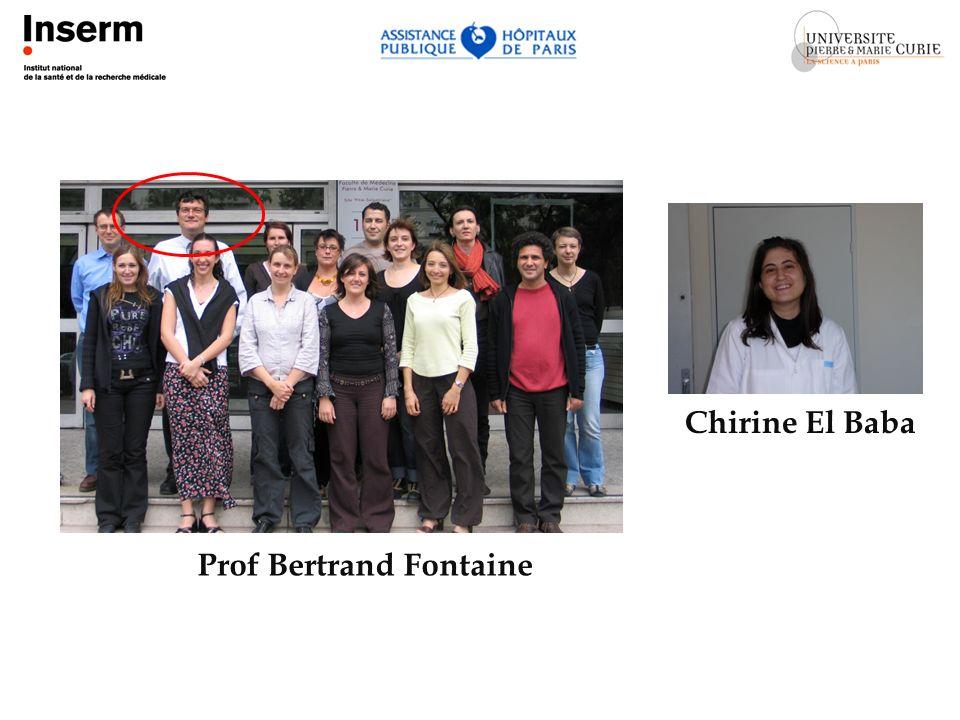 Prof Bertrand Fontaine