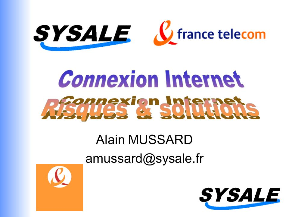 Alain MUSSARD amussard@sysale.fr