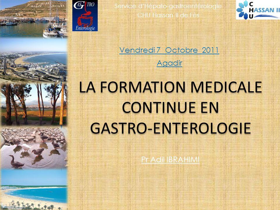 LA FORMATION MEDICALE CONTINUE EN GASTRO-ENTEROLOGIE
