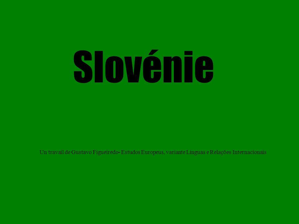 Slovénie Un travail de Gustavo Figueiredo- Estudos Europeus, variante Línguas e Relações Internacionais.