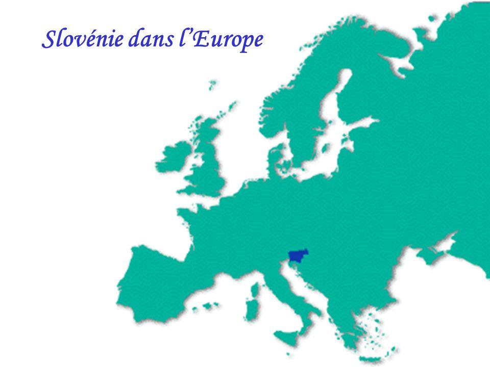 Slovénie dans l'Europe