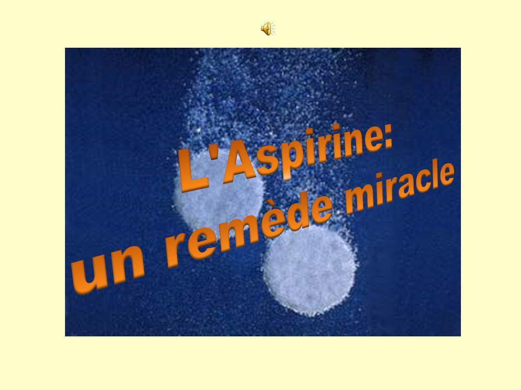 L Aspirine: un remède miracle