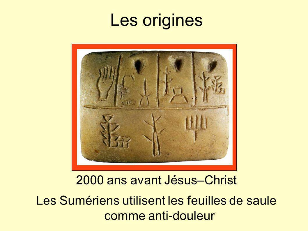 Les origines 2000 ans avant Jésus–Christ