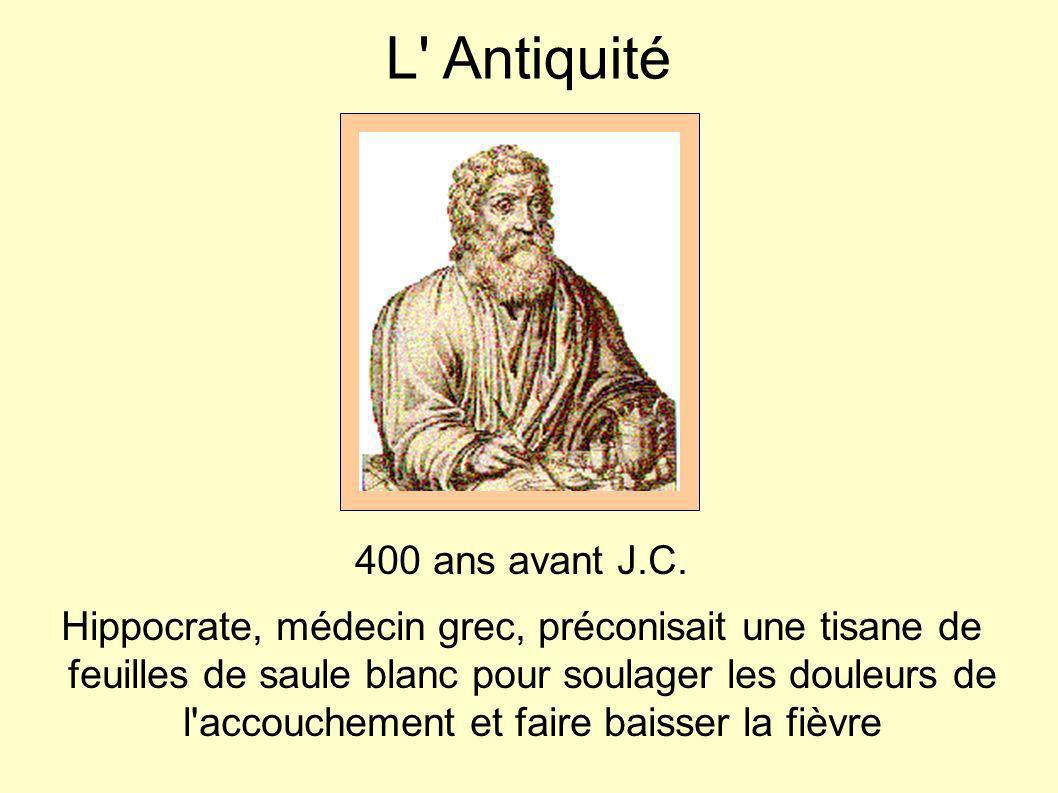 L Antiquité 400 ans avant J.C.