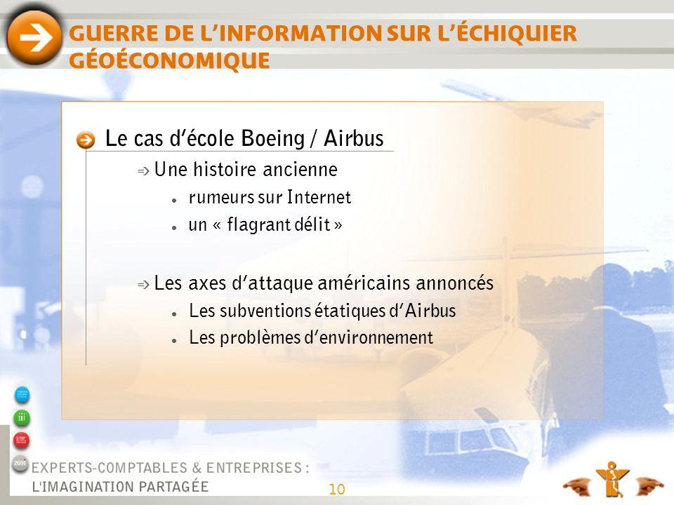 GUERRE DE L'INFORMATION SUR L'ÉCHIQUIER GÉOÉCONOMIQUE