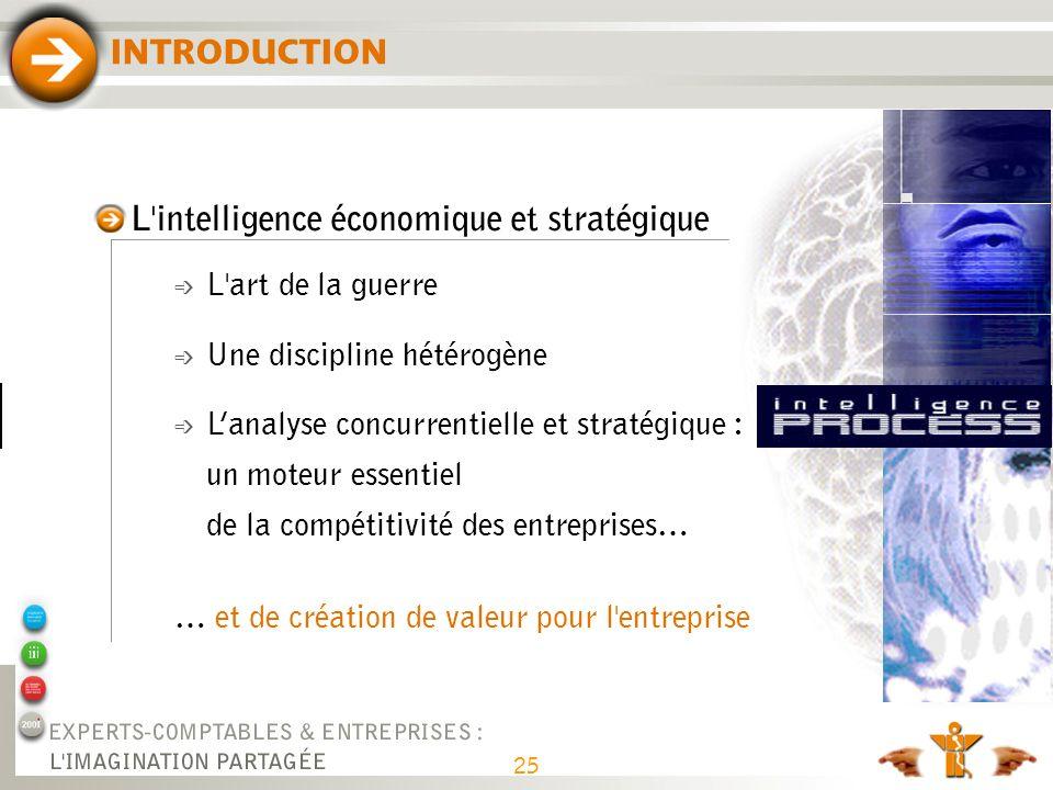 L intelligence économique et stratégique