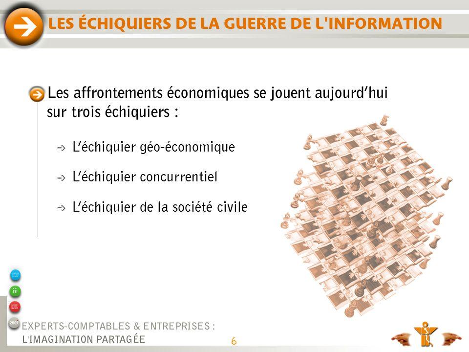 LES ÉCHIQUIERS DE LA GUERRE DE L INFORMATION