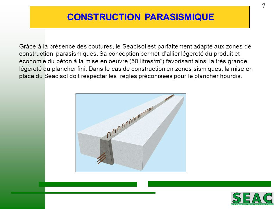 CONSTRUCTION PARASISMIQUE