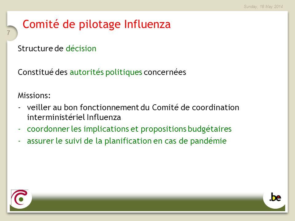 Comité de pilotage Influenza