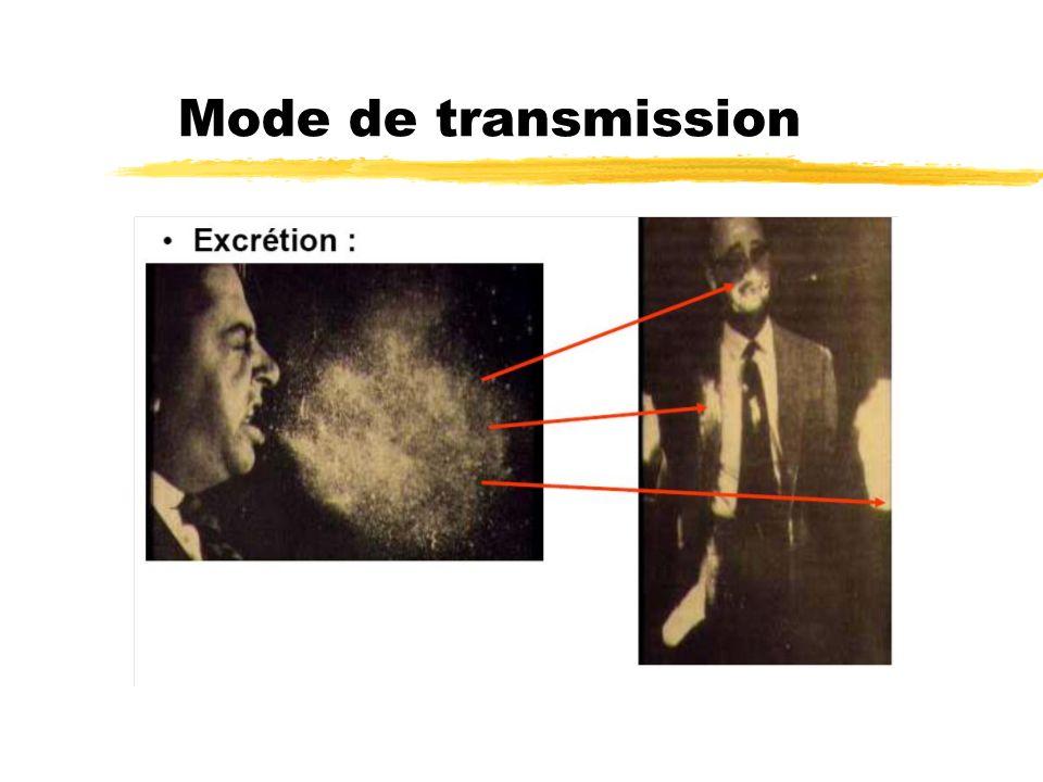 Mode de transmission